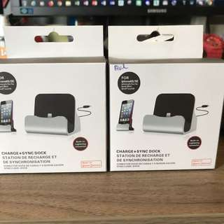 Charge + Sync Dock