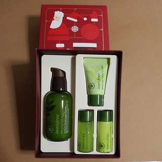 Innisfree Green Tea Seed Serum christmas special set