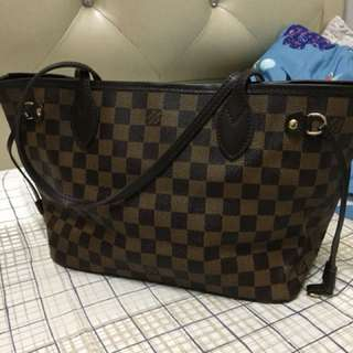 Lv neverfull pm damier