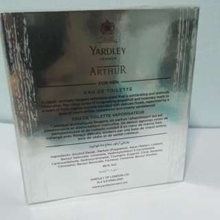 Yardley London Arthur Perfum