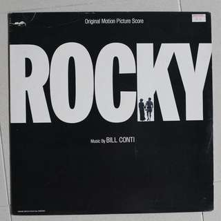 "vinyl LP ""rocky"""
