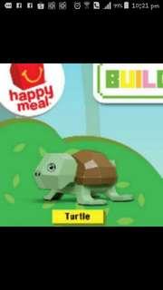 McDonald's Happy Meal Toys : Building blocks