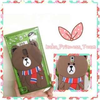 SAMSUNG NOTE 3 - LINE頸巾熊大手機套