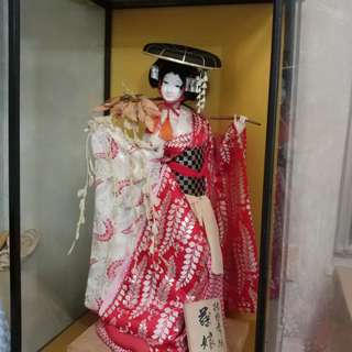 日本藤娘手造人偶 約60cm高