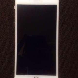 IPHONE 6s 64gb globelocked Rose Gold