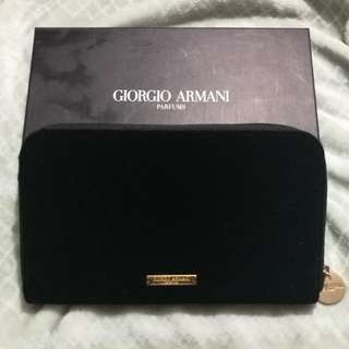 New Giorgio armani clutch/wallet