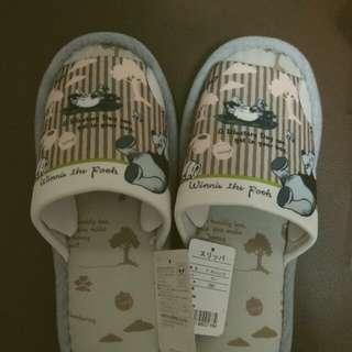 Winnie the pooh 小熊維尼日本正版拖鞋