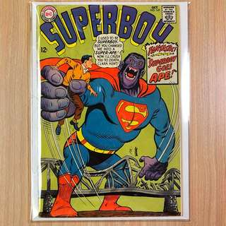 DC COMICS Superboy #142-Superboy Goes Ape! (Serious Buyers Only)