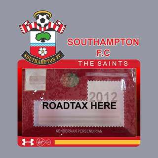 Road Tax Sticker EPL Series - SOUTHAMPTON FC