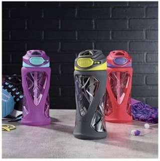 [Built to take a hit] Zulu Torque Kids Water Bottle with Flip Straw, 12oz.