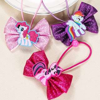 Selling on Qoo10 - My Little Pony hair ties