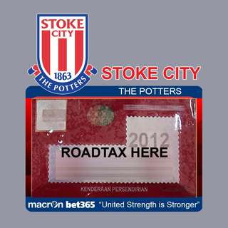 Road Tax Sticker EPL Series - STOKE CITY