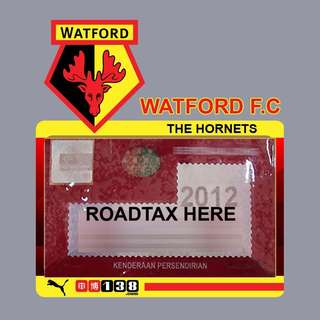 Road Tax Sticker EPL Series - WATFORD