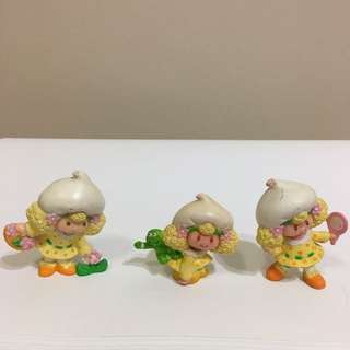 Strawberry Shortcake Vintage Figurine Dolls