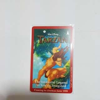 MRT Card - Tarzan
