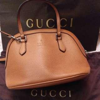 Gucci leather shell crossbody bag 斜揹袋 手提袋