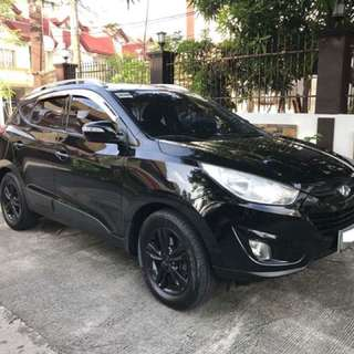 Hyundai Tucson 2012model AT Diesel 4x4 GLS