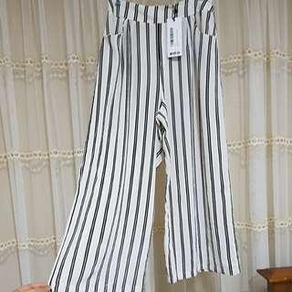 White stripes cullote