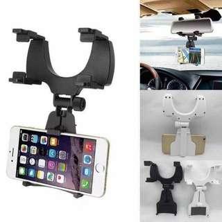 New Universal Car Rear View Mirror Mount Smart Phone Holder