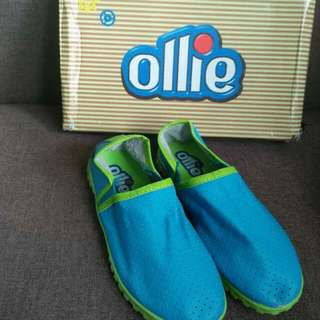 Ollie blue/green shoes for boys US13(31)