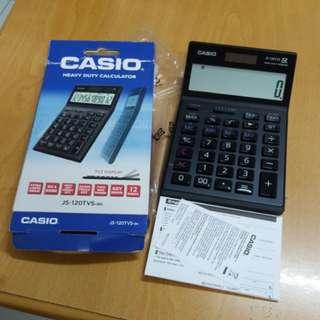 New Casio Heavy Duty Calculator JS-120TVS