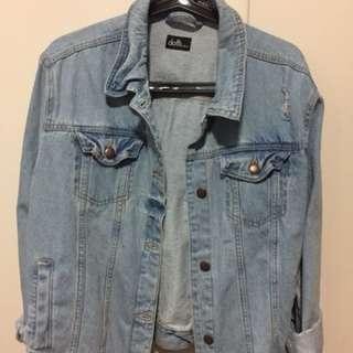 Dotti Oversized denim jacket