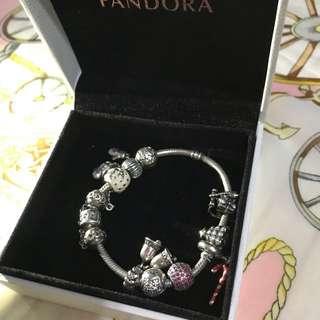 Pandora 全條連珠 18cm