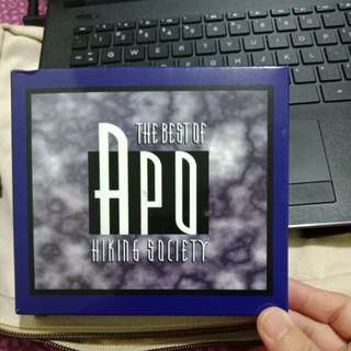 The best of APO HIKING SOCIETY CDs