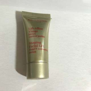 clarins facial lift serum sample
