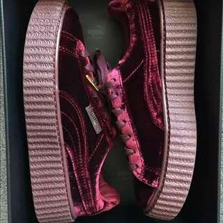 (Last Stock) Rihanna 'Fenty' x Puma Velvet Creeper Royal Purple