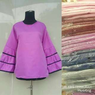 BLOUSE 35RB REAL PICTURE