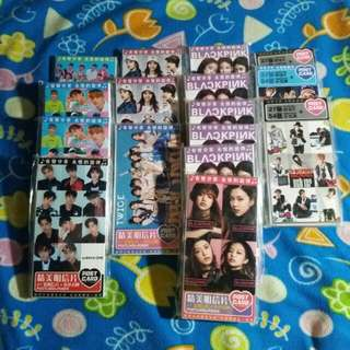 CLEARANCE PROMO for Kpop Postcards!