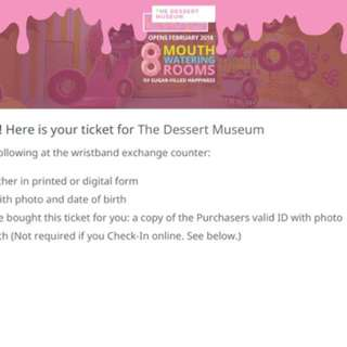 Valentines date on dessert museum