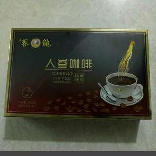 蔘龍人蔘咖啡