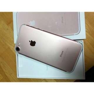 港行 iphone7 128Gb rose gold . Full set 抵買