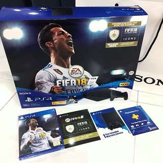 PS4 Slim FIFA 18 Bundle (BNIB)