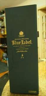 全新 蘇格蘭 約翰走路藍牌 調和威士忌750m l Johnnie Walker BlueLabelBlend ScotchWhisky