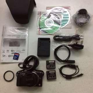 Panasonic GF6 complete set + Panasonic TZ10 camera