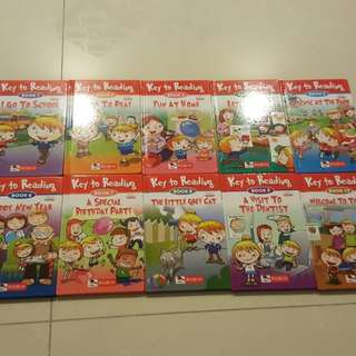 Robin key to reading english readers book 1-10