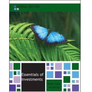 Essentials of Investments 9th Edition