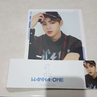 WANNA ONE To Be One Cover Card Sleeve Ha Sung Woon