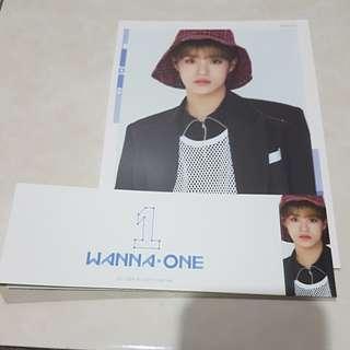 WANNA ONE To Be One Cover Card Sleeve Lee Dae Hwi