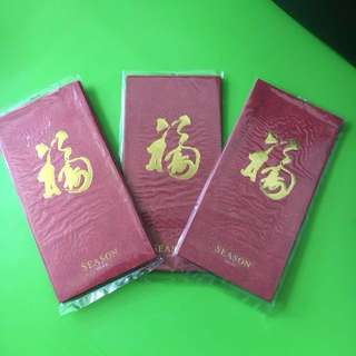 Season 2018 red packet / angbao (4pcs in a pack)