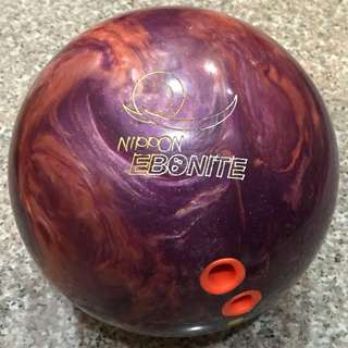 Nippon Ebonite Bowling Ball