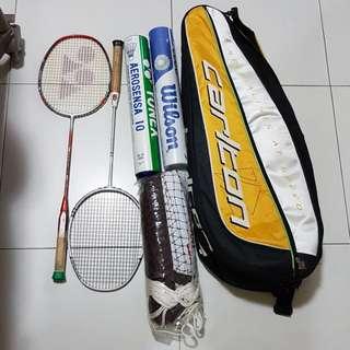 Moving sale - Badminton Racket @ $200