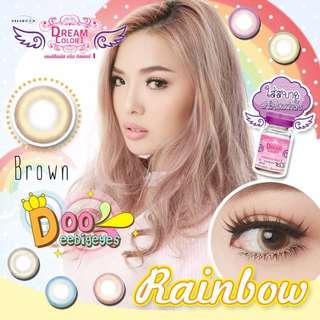 Contact lens - Rainbow