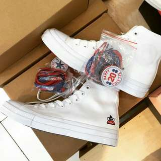 CONVERSE ALL STAR CT HIGH 70s x COLETTE CLUB 75 x HAPPY 20 COLETTE