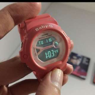 G-SHOCK BABY G PINK WATCH