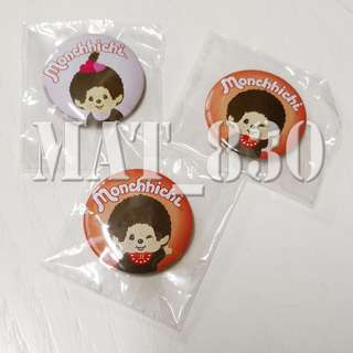 Monchhichi 40th pin 襟章