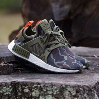 eafd451debfb9 ADIDAS NMD XR1 DUCK CAMO Size 13US OLIVE GREEN BA7232